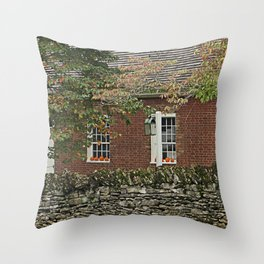 The Shakers fall Throw Pillow