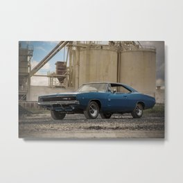 1968 Hemi Charger RT Metal Print