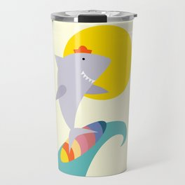 sea shark Travel Mug
