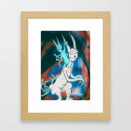 Tumor Cats Framed Art Print