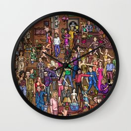 music pub Wall Clock
