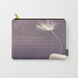 It all starts with A wish  Carry-All Pouch