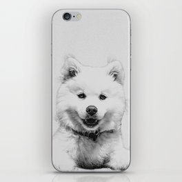 Minimalist Dog iPhone Skin