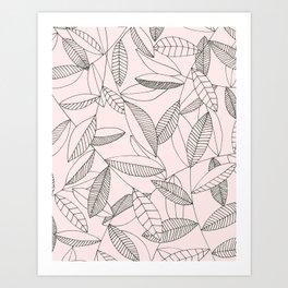 You're making me blush Art Print