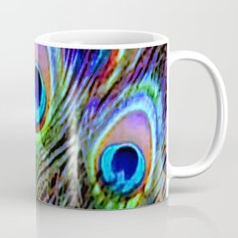 Peacock Feathers - Secret Garden  Coffee Mug