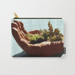 Bush in the Hand Carry-All Pouch