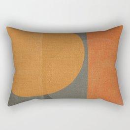 Sad Sun Rectangular Pillow