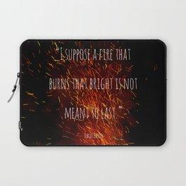 Divergent - Allegiant - Fire that burns that bright Laptop Sleeve