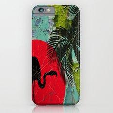 Distressed Flamingo iPhone 6s Slim Case