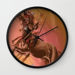 Dungeons, Dice and Dragons - Centaur Wall Clock