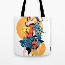cocktail oiran girl Tote Bag