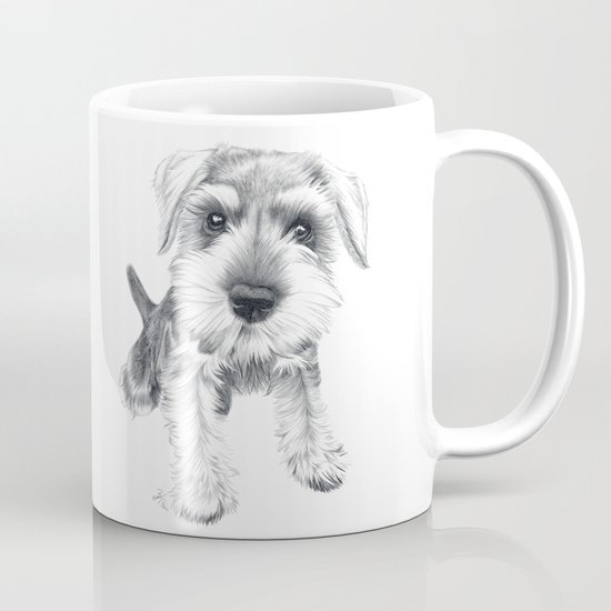 Schnozz the Schnauzer Mug