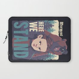 We Stand Laptop Sleeve
