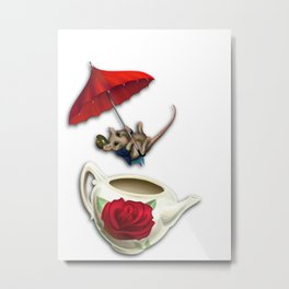 The Dormouse Metal Print