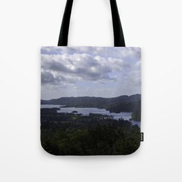 Lake Windermere, View from Orrest Head - Landscape Photography Tote Bag