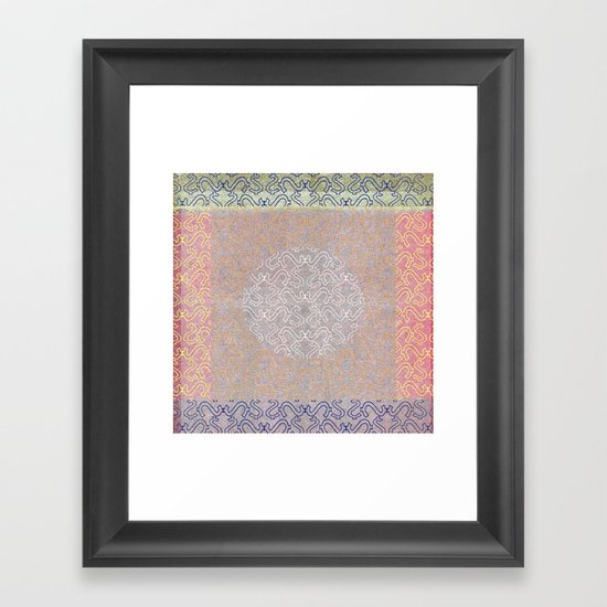 Grey Retreat Framed Art Print