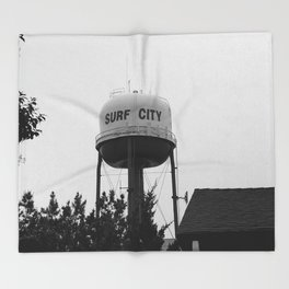 Surf City Throw Blanket