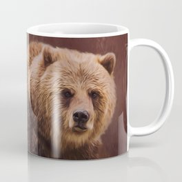 Great Strength - Grizzly Bear Art Coffee Mug