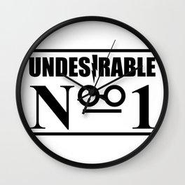 HP Undesirable No. 1 II Wall Clock