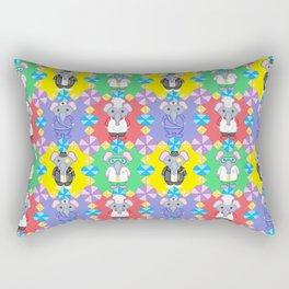 Elephant Costume Career Print Rectangular Pillow