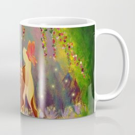 The Fawn and the Butterfly Coffee Mug