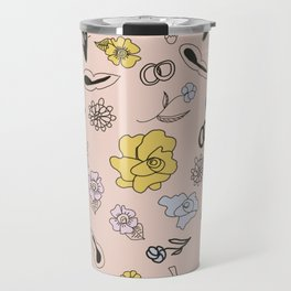 frida's flowers Travel Mug