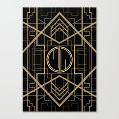 MJW- GREAT GATSBY STYLE Canvas Print
