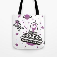 space Purple! Tote Bag