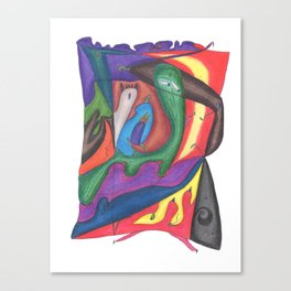 Drawing #69 Canvas Print