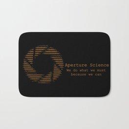 Aperture Science Bath Mat