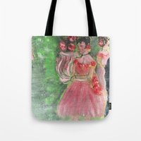 degas Tote Bags featuring Dancers by Jim McGarvey