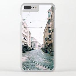 Derailed | Munich, Germany Clear iPhone Case
