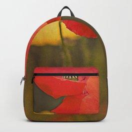 Poppies vintage 6 Backpack