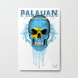 To The Core Collection: Palau Metal Print