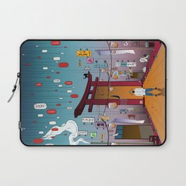 Lost in Time Laptop Sleeve