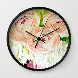 Summer Burst Wall Clock