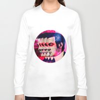 drunk Long Sleeve T-shirts featuring Drunk by Cs025