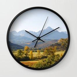 Rural Colorado Wall Clock