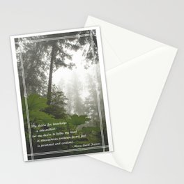 Perennial and Constant Stationery Cards