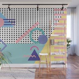 Memphis Pattern 5 - 80s - 90s - Retro Wall Mural