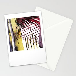 Pop Art Sea Anemone Stationery Cards