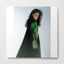 Loki - There Are No Men Like Me XIX Version I Metal Print