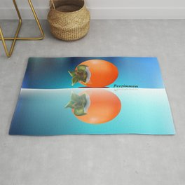 Persimmon  Reflection Rug