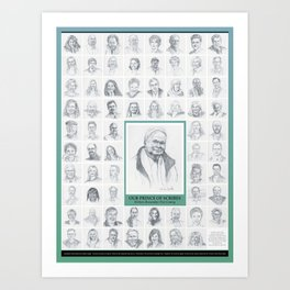 Our Prince of Scribes poster Art Print