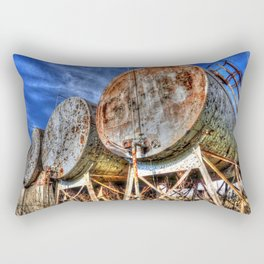 Four Tanks Rectangular Pillow