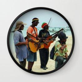 Jamaican Vibes Wall Clock