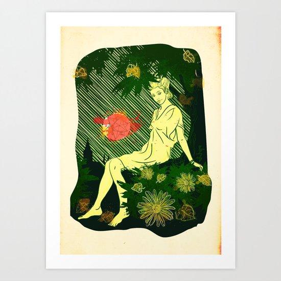 Divina Melancholia Art Print