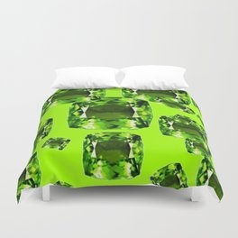 August Babies Birthstone Gems Art Duvet Cover