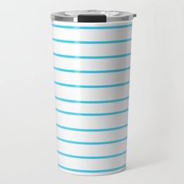 Blue Summer Travel Mug