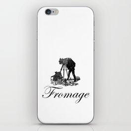 Say Fromage iPhone Skin